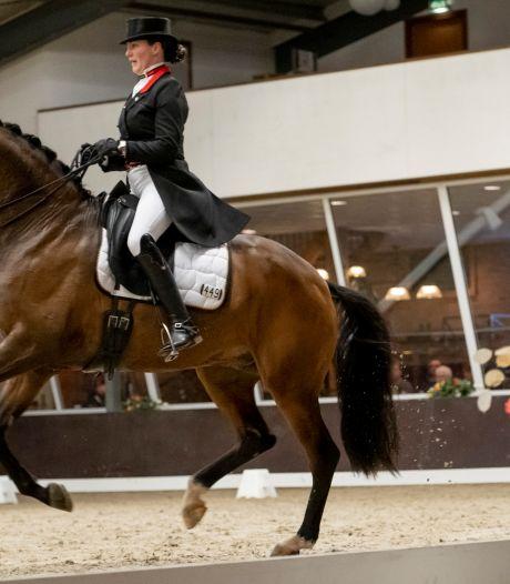 Dressuurruiters Van Baalen en Zweistra op Indoor Brabant
