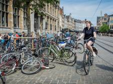 447 fietsparkeerplaatsen extra in centrum Gent