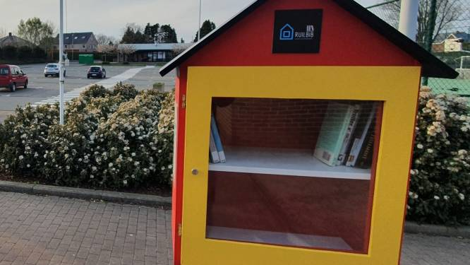 Twee extra gemeentelijke ruilbibliotheekjes in centrum Lede