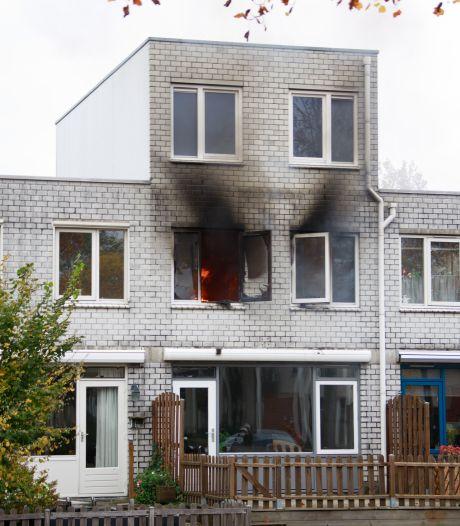 Uitslaande brand in slaapkamer van woning in Amersfoort