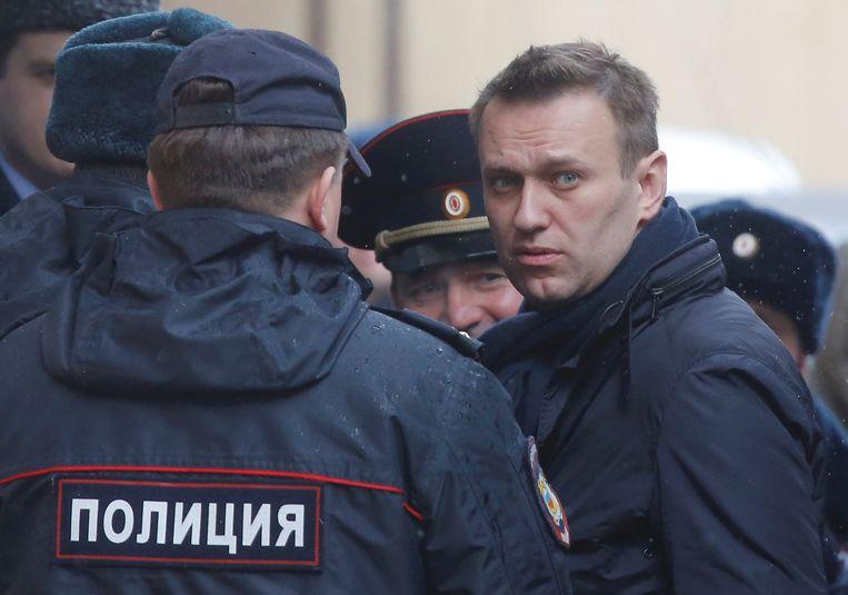 De Russische oppositieleider Alexsej Navalny. Beeld REUTERS