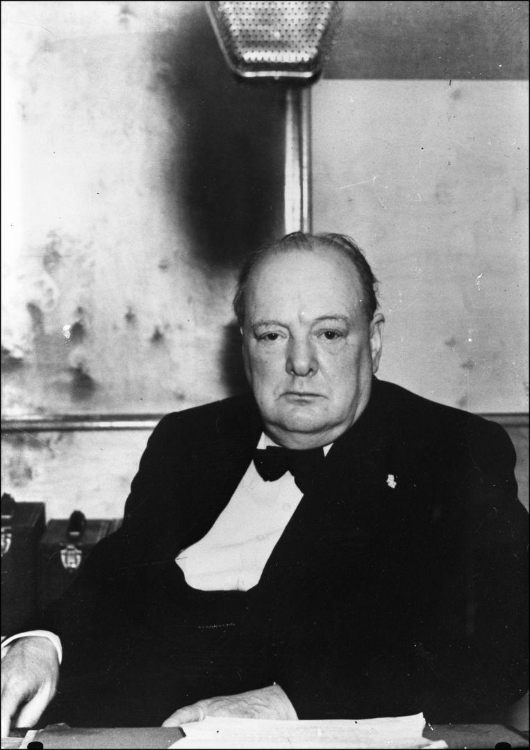 Winston Churchill. Beeld photo_news