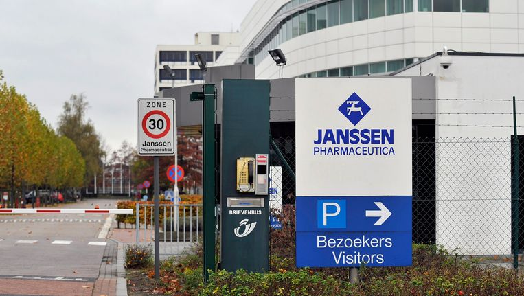 De site van Janssen Pharmaceutica in Beerse Beeld BELGA