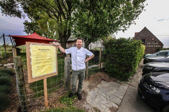 Er is een oplossing in de maak om de sloop van restaurant De Geit af te wenden. Uitbater Bert Vanhalle runt de zaak samen met zijn verloofde Davine Verhaeghe.