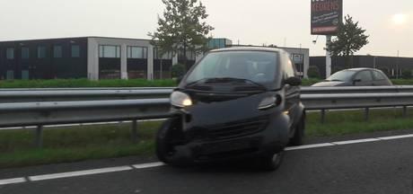 Ongeluk op A59 bij afrit Heusden zorgt voor file: weg vrijgegeven