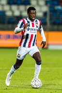 TILBURG - 17-12-2020, Koning Willem II stadion. Dutch TOTO KNVB beker football, eredivisie, season 2020-2021.   Willem II player Leeroy Owusu during the match Willem II - Vitesse, cupmatch. Final score 0-2.