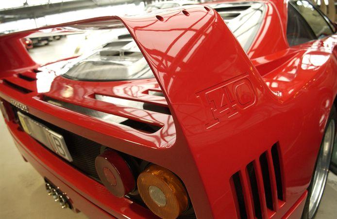 Een Ferrari F40, archiefbeeld.