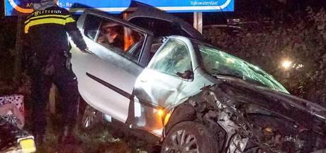 Eenzijdig ongeval op A2 bij Maarheeze
