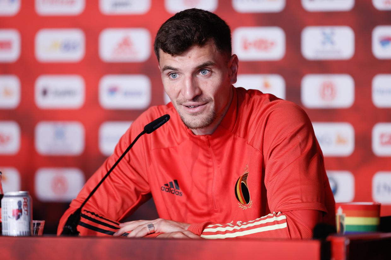 Thomas Meunier: 'Als je dit EK kan winnen, dan is dat voor mij waardevoller dan het WK winnen.' Beeld BELGA