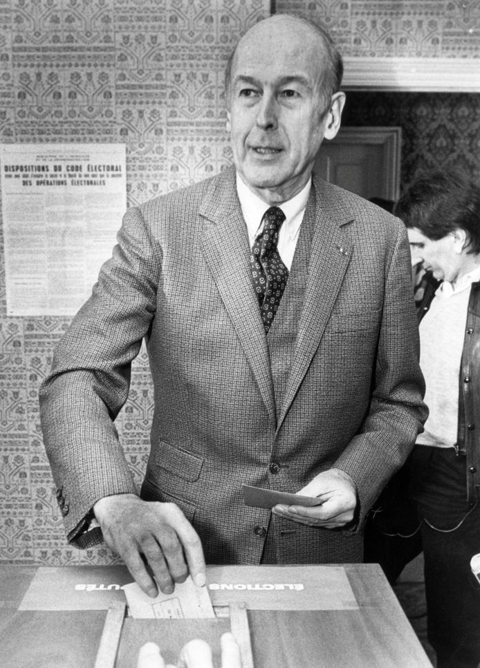 Valéry Giscard d'Estaing in 1986.