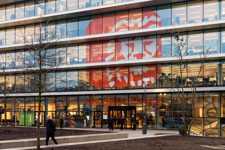 Het hoofdkantoor van ING, in Amsterdam. Beeld Getty Images