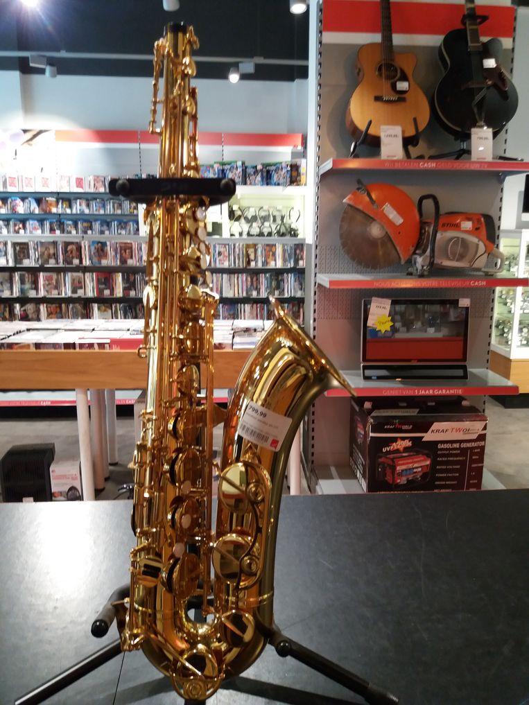 De saxofoon is ook nog niet terecht bij de eigenaar.