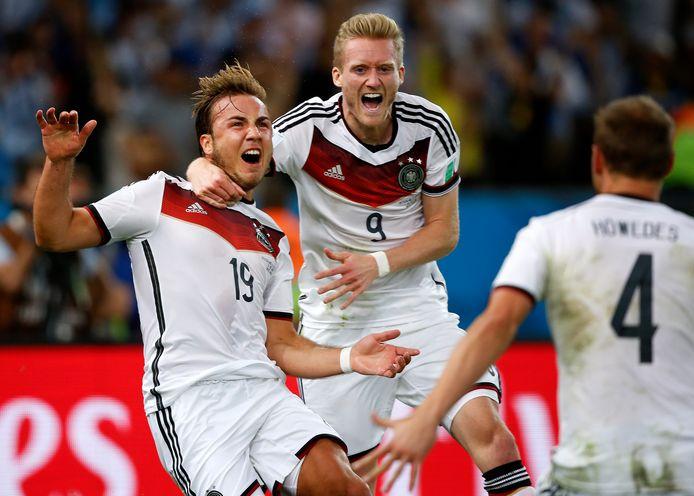 Götze werd in 2014 de gevierde man met zijn 1-0 tegen Argentinië.