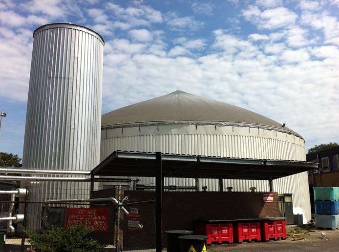 De biogascentrale van Van de Groep.