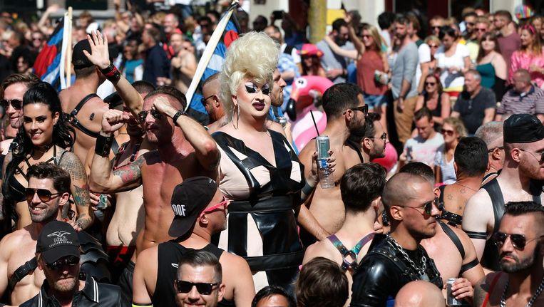 Achter veel boten op de jaarlijkse Canal Parade zit een ideologische leegte Beeld anp