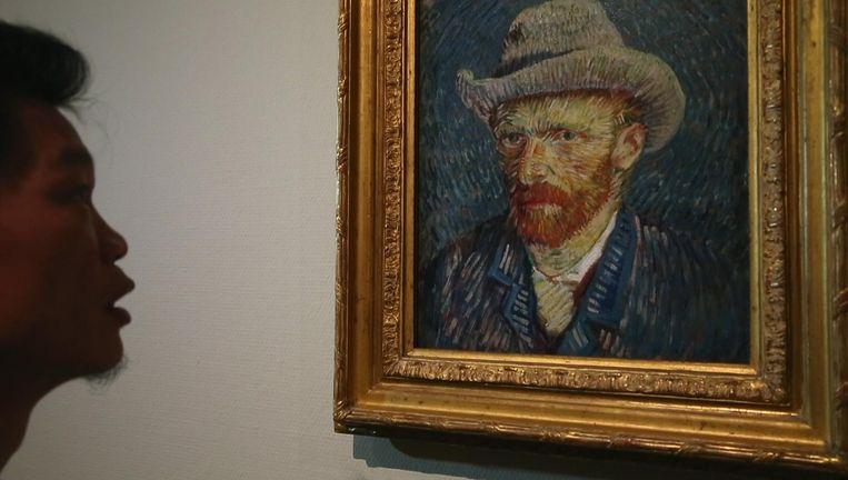 Beeld uit de film China's Van Goghs. Beeld