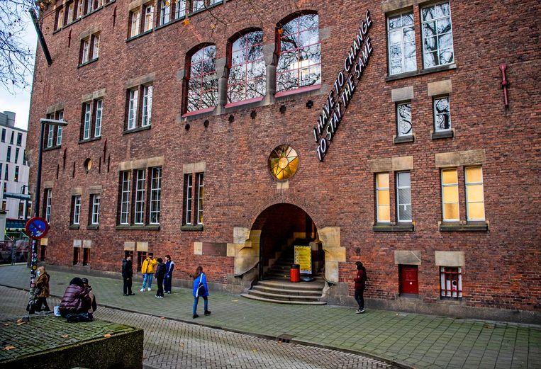 De Willem de Kooning Academie aan de Blaak in Rotterdam. Een docent zou te ver zijn gegaan met studenten.  Beeld Hollandse Hoogte / Frank de Roo