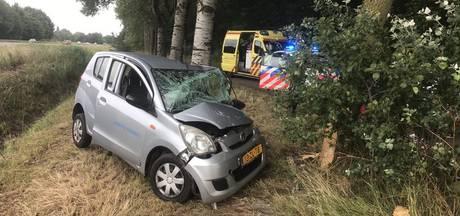 Automobilist gewond bij botsing tegen boom in Wijchen