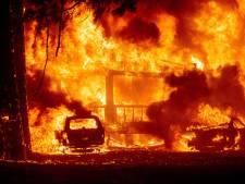 Noord-Californisch dorp totaal verwoest door bosbrand: zelfs lantaarnpalen gesmolten