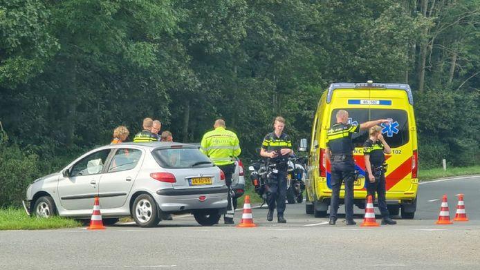 Het ongeluk vond plaats op de oprit van de A35