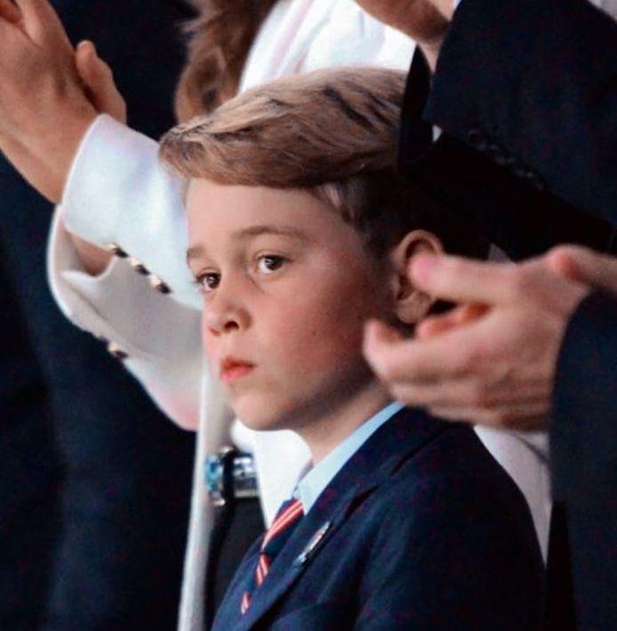 Le prince George à Wembley