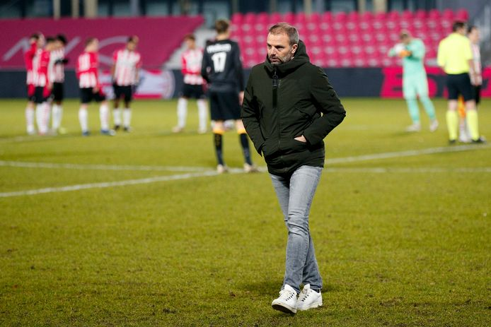 NAC-trainer Maurice Steijn