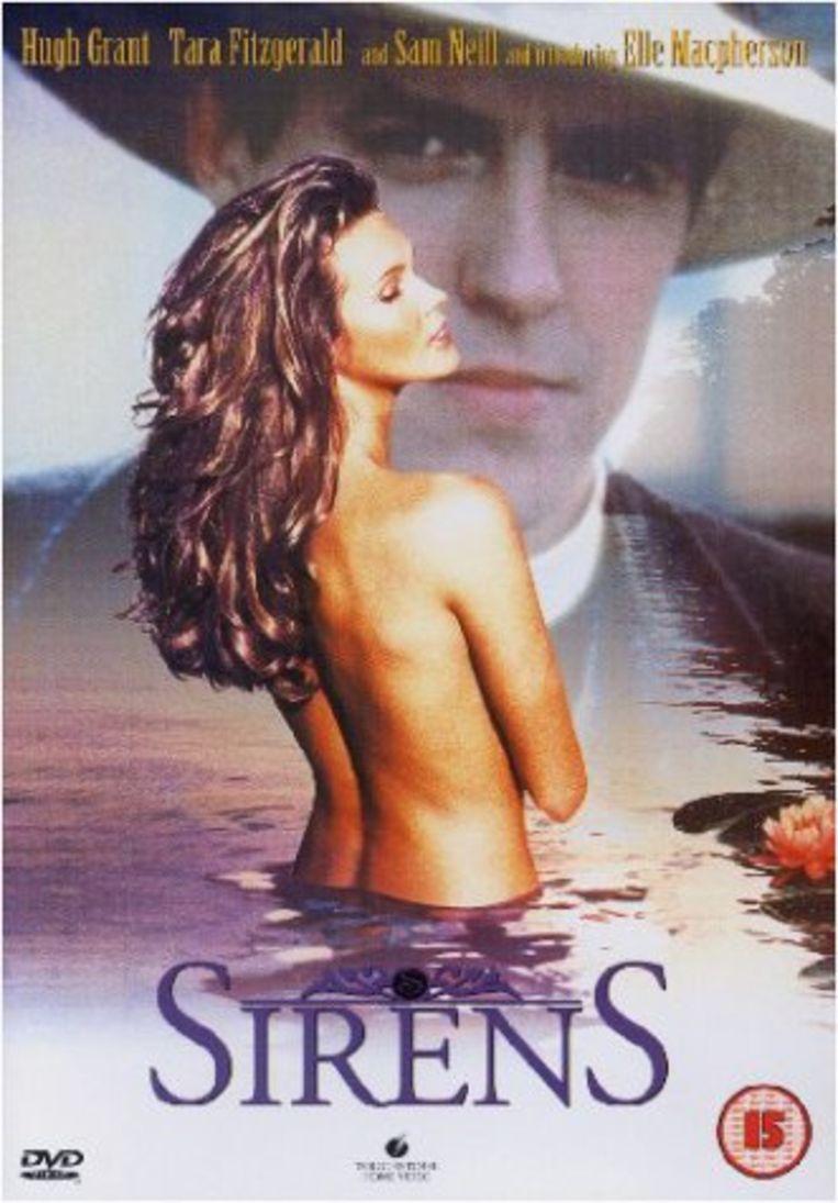 Elle Macpherson ging in de film 'Sirens' uit 1994 meermaals uit de kleren.