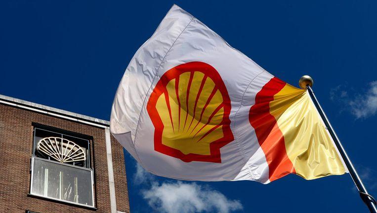 Het Shell-kantoor in Den Haag. Beeld anp
