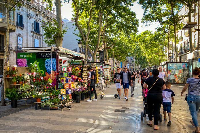Barcelone, l'été dernièr