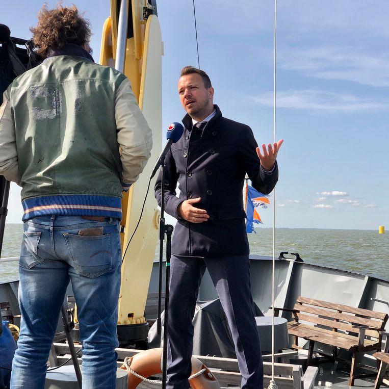 Sander de Rouwe. Beeld Toine Heijmans
