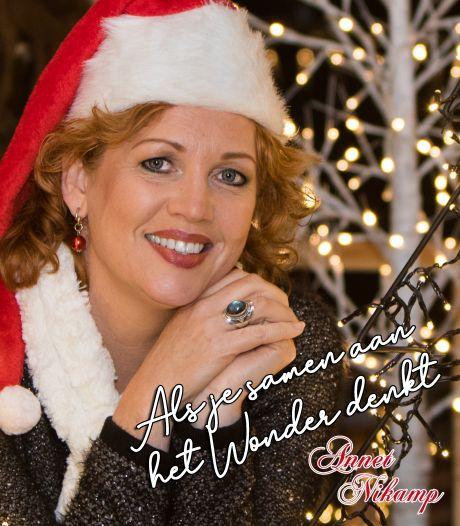 Kerstsingle over het 'Wonder' van Nijverdalse Annet Nikamp