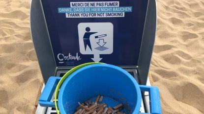 Rookvrij strand? Wij doen de test en vinden meteen 134 peuken op 100 vierkante meter