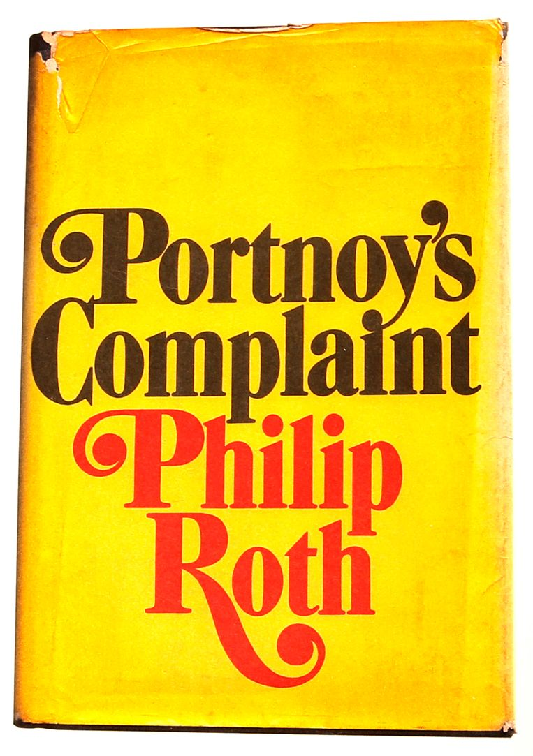 Philip Roth: Portnoy's Complaint. Ontwerp Paul Bacon. Random House, 1969. Beeld