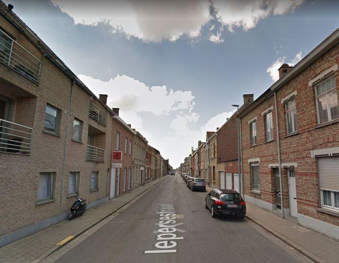 Vanaf maandag wordt er gewerkt in de Iepersestraat tussen de Westlaan en de Bollenstraat.