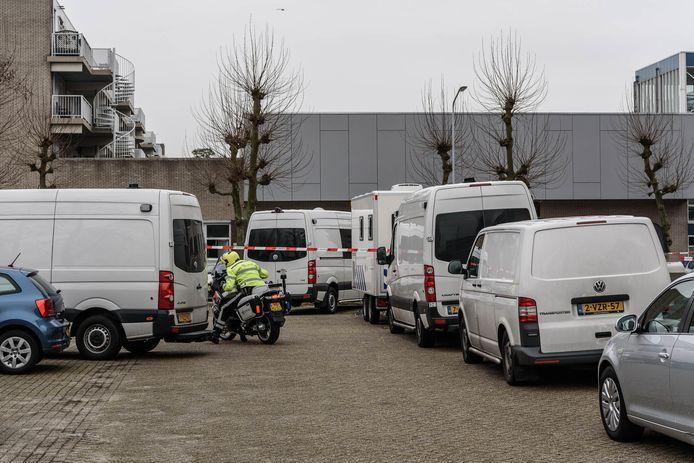 Politieonderzoek in de Roeselarestraat in Breda.