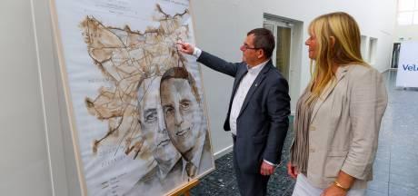 Schilderij met burgervaders voor honderdjarige gemeente Veldhoven