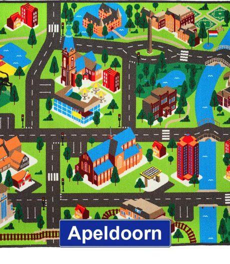 Racen langs Paleis Het Loo, Apenheul en Julianatoren: Apeldoorn heeft nu eigen speelkleed