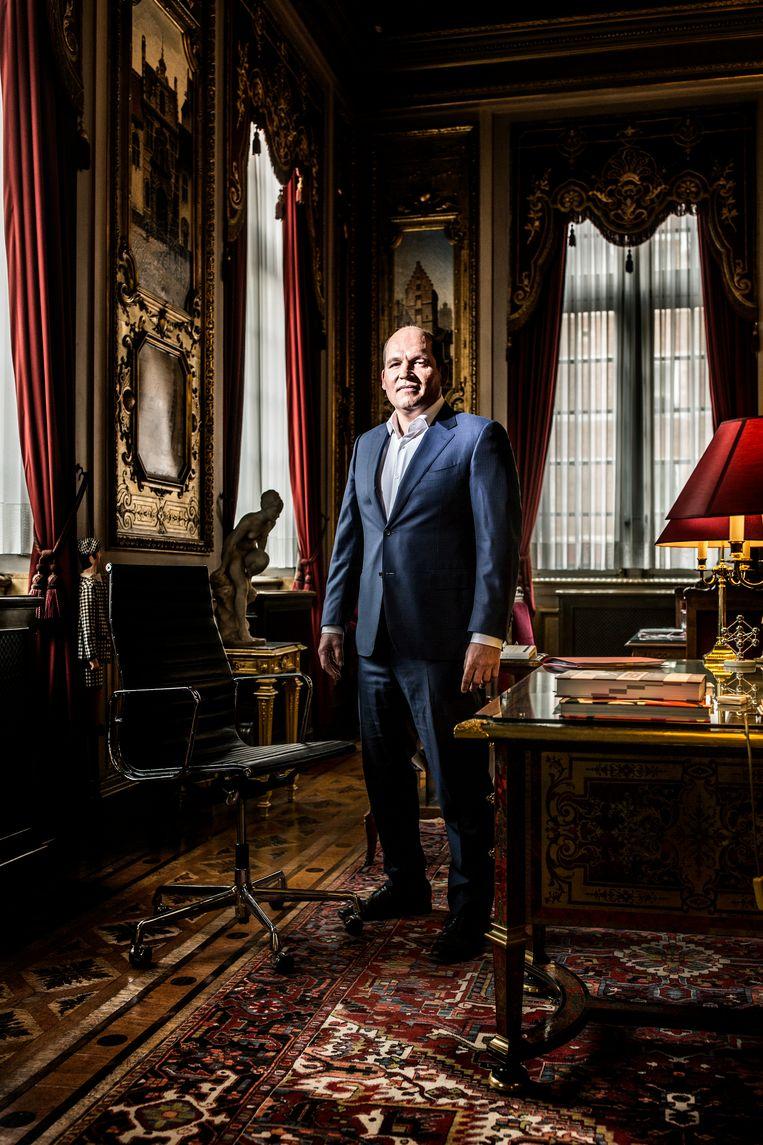 Philippe Close (PS) is burgemeester van Stad Brussel. Beeld Franky Verdickt