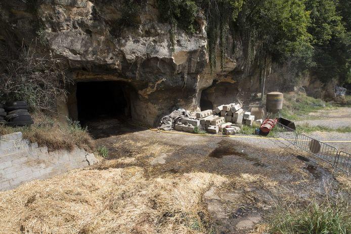 De grotten in Kanne bij Riemst.