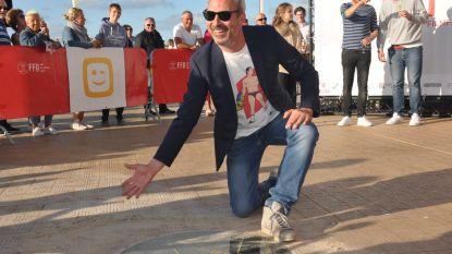 Regisseur Jan Eelen (Callboys) krijgt 100ste ster op Oostendse Walk of Fame