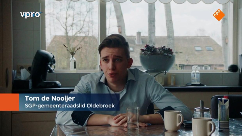 Politicus Tom de Nooijer, hoofdrolspeler in de documentaire 'Lekker Conservatief'. Beeld