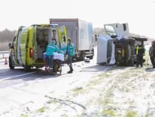 Enorme ravage op A1 bij Apeldoorn voorbij: afgesloten snelweg na uren weer open