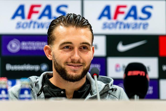 PSV-doelman Joël Drommel zag dat Olivier Boscagli de 0-1 'aardig binnenschoot' tegen AZ.