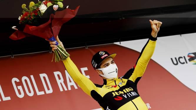 20 jaar wachten en nu twee zeges op één dag: na Erik Dekker in 2001 wint Jumbo-Visma eindelijk weer de Amstel