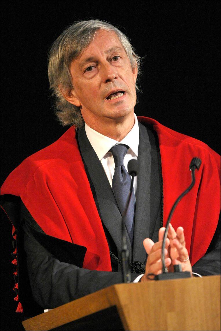 Rector Mark Waer. Beeld PHOTO_NEWS
