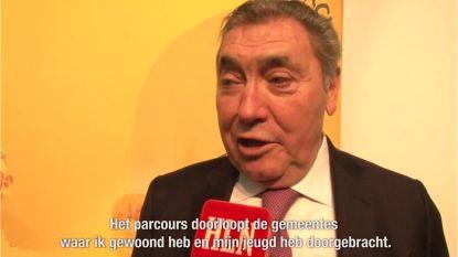 """Eddy Merckx bij onze videoman op presentatie Tourstart: """"Tweede rit wordt terugkeer naar mijn jeugd"""""""