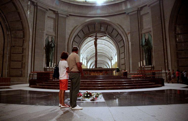 Het mausoleum van Francisco Franco.