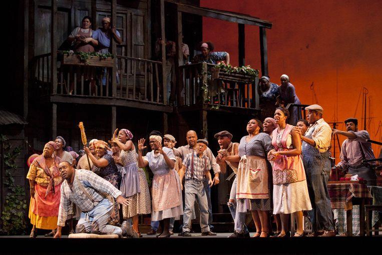Porgy and Bess van The New York Harlem Theatre Beeld Luciano Romano