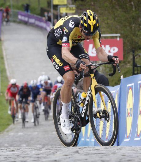 Van Aert legt zich neer bij zesde plek: 'Ik was gewoon niet goed genoeg'