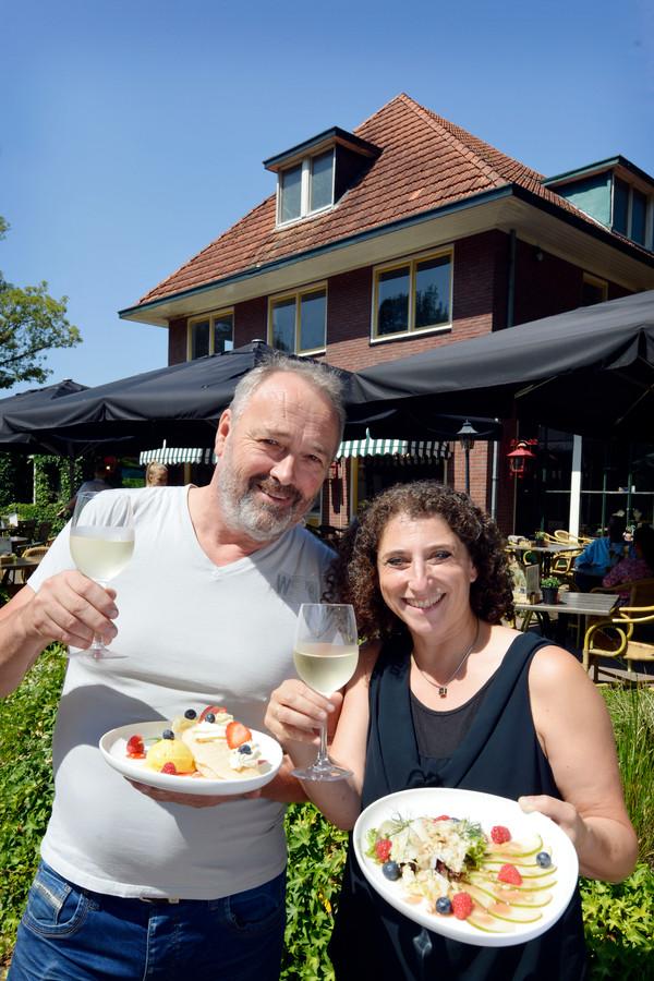 Marcel Smid en Judy Kesnar van restaurant De Gulle Smid
